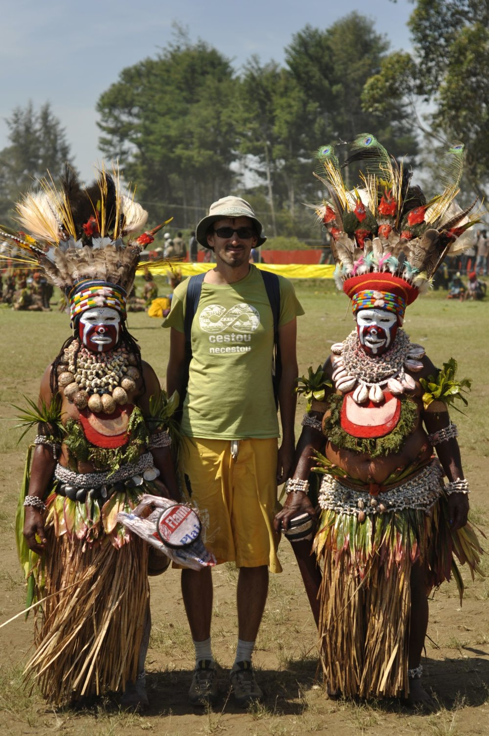 Michal Knitl v Papue Novej Guinei
