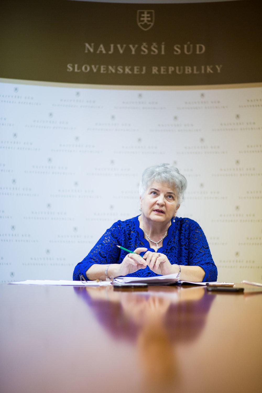 Daniela Švecová. Foto N - Vladimír Šimíček