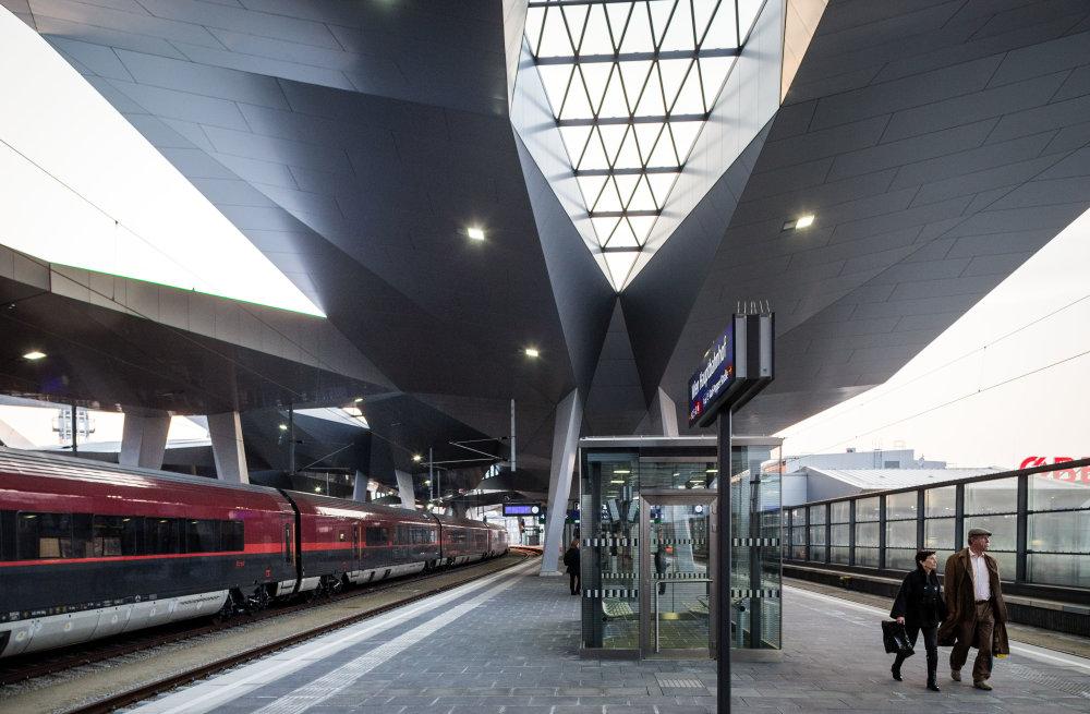 Hlavná železničná stanica vo Viedni. Foto N - Tomáš Benedikovič