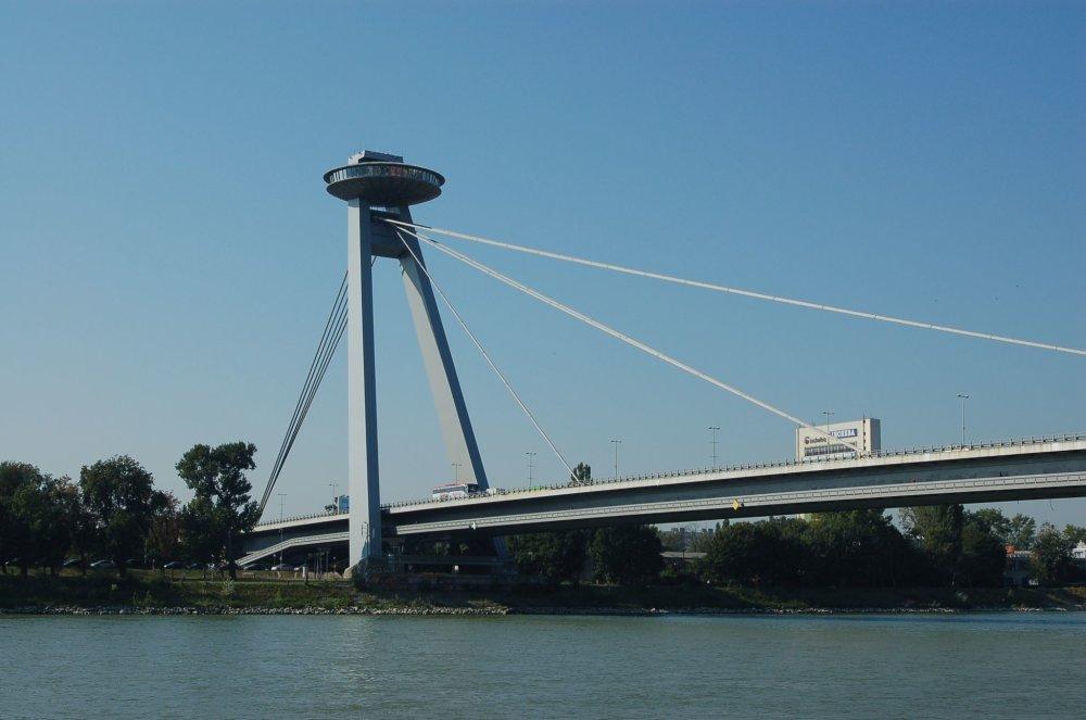 Most SNP, Bratislava. Foto - Tmaurizia