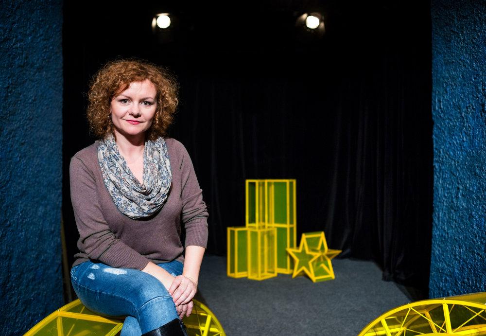 Pred predstavením Divná doba, divná láska, divné životy v divadle Gunagu. Foto N - Tomáš Benedikovič