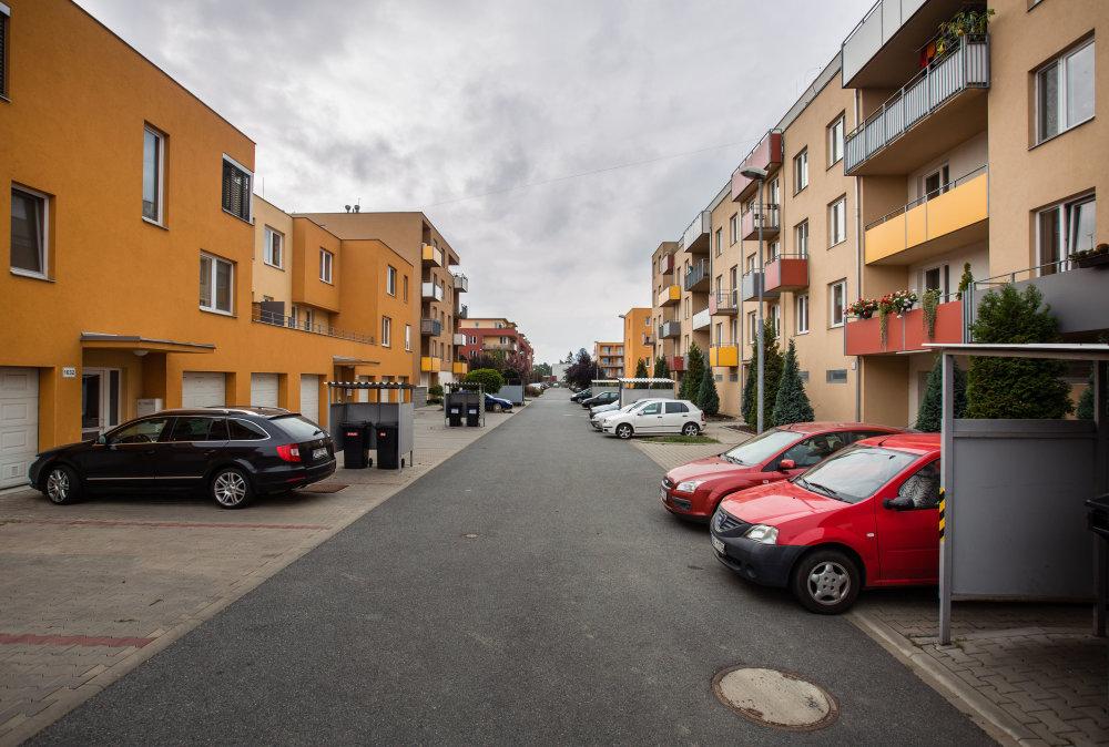 Bytové domy, ktoré v Brne stavala firma Sceptrum. foto N - Tomáš Benedikovič