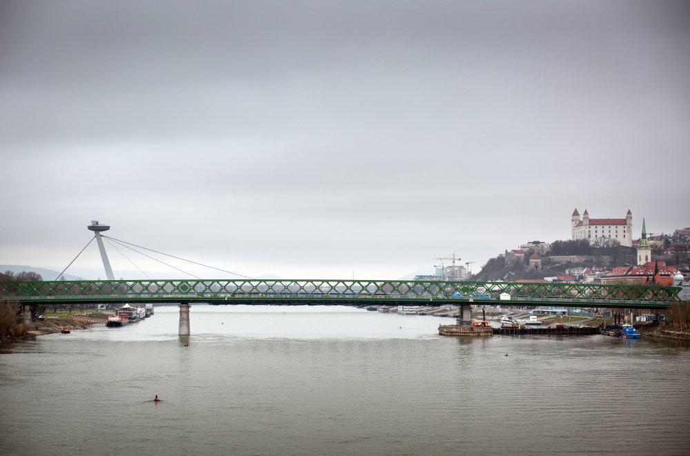 Vo svete stavajú mosty inžinieri s architektmi. U nás vo väčšine prípadov iba inžinieri. Foto N - Tomáš Benedikovič
