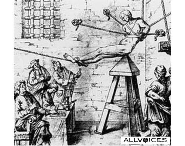 Ľudia chcú iných ľudí niekam posadiť odjakživa. Z histórie: Judášova stolička (zdroj: allvoices.com)