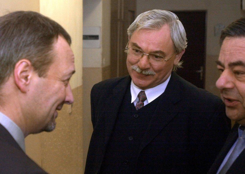 Ján Cuper, bývalý poslanec za HZDS, robil advokáta Ivanovi Lexovi. Dnes učí na Právnickej fakulte UK. Foto – TASR