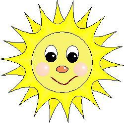 Výsledok vyhľadávania obrázkov pre dopyt slniečko kreslené