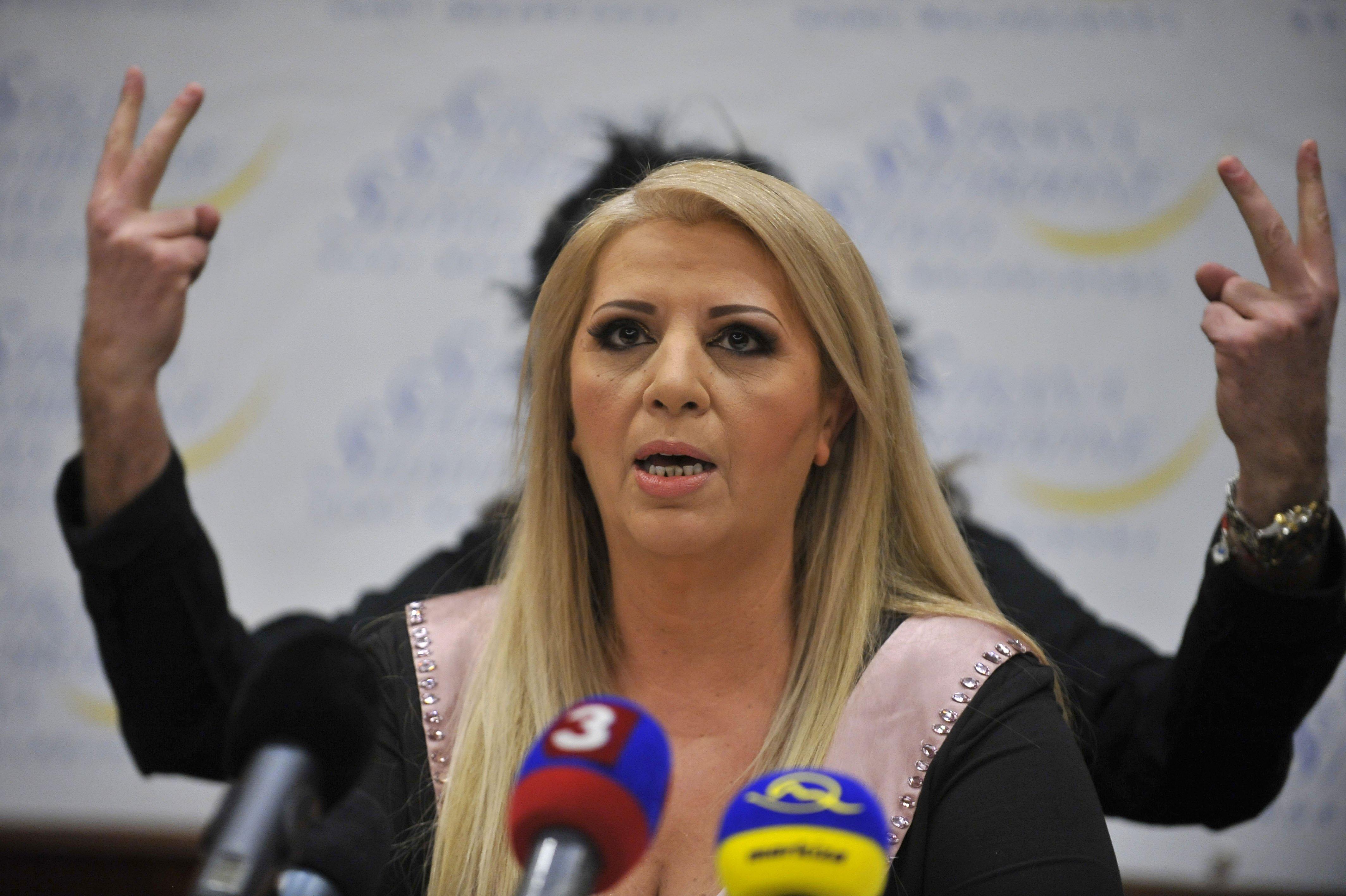 Kandidátka Nora Mojsejová. Foto - TASR