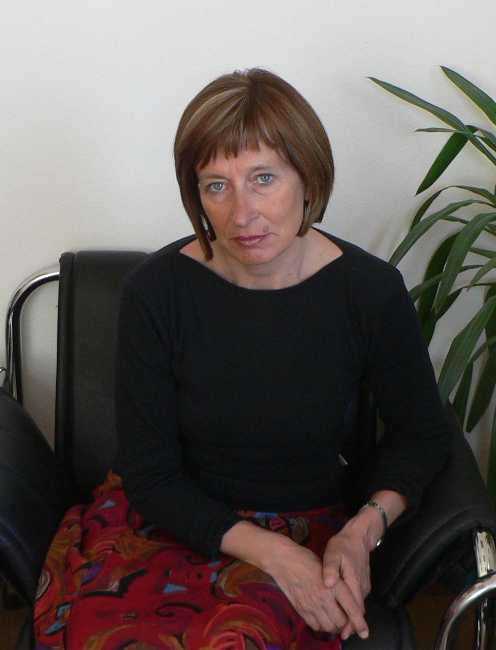 Riaditeľka evanjelického gymnázia v Tisovci Helena Pašiaková. Foto - archív H. P.