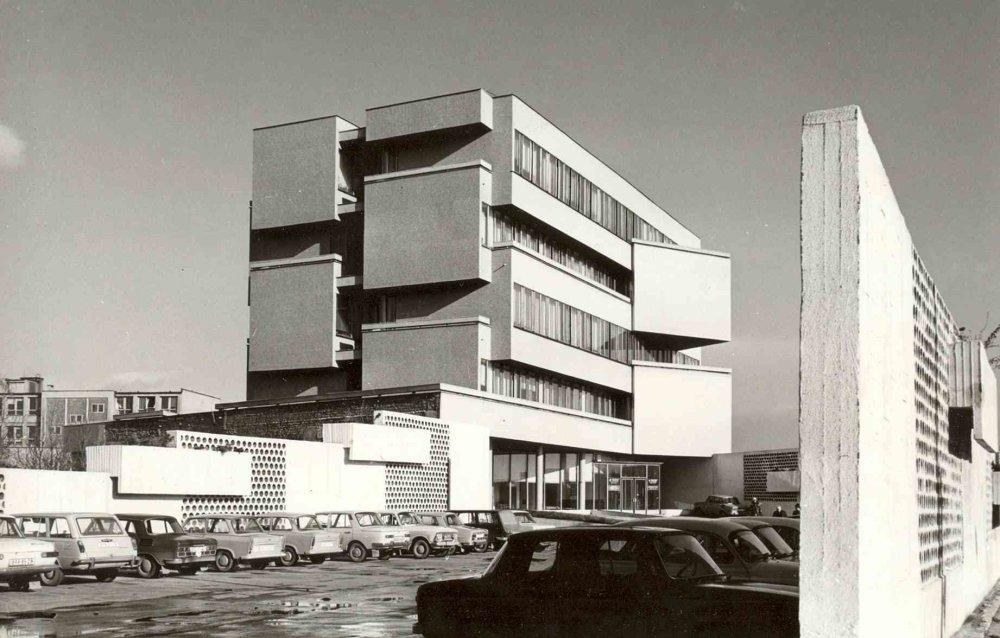 Administratívna budova na Záhradníckej ulici v Bratislave, Archív Oddelnia architektúry ÚSTARCH SAV