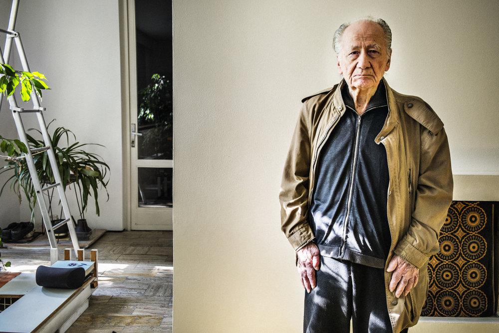 Vladimír Dedeček (87). Foto - Boris Németh/.týždeň