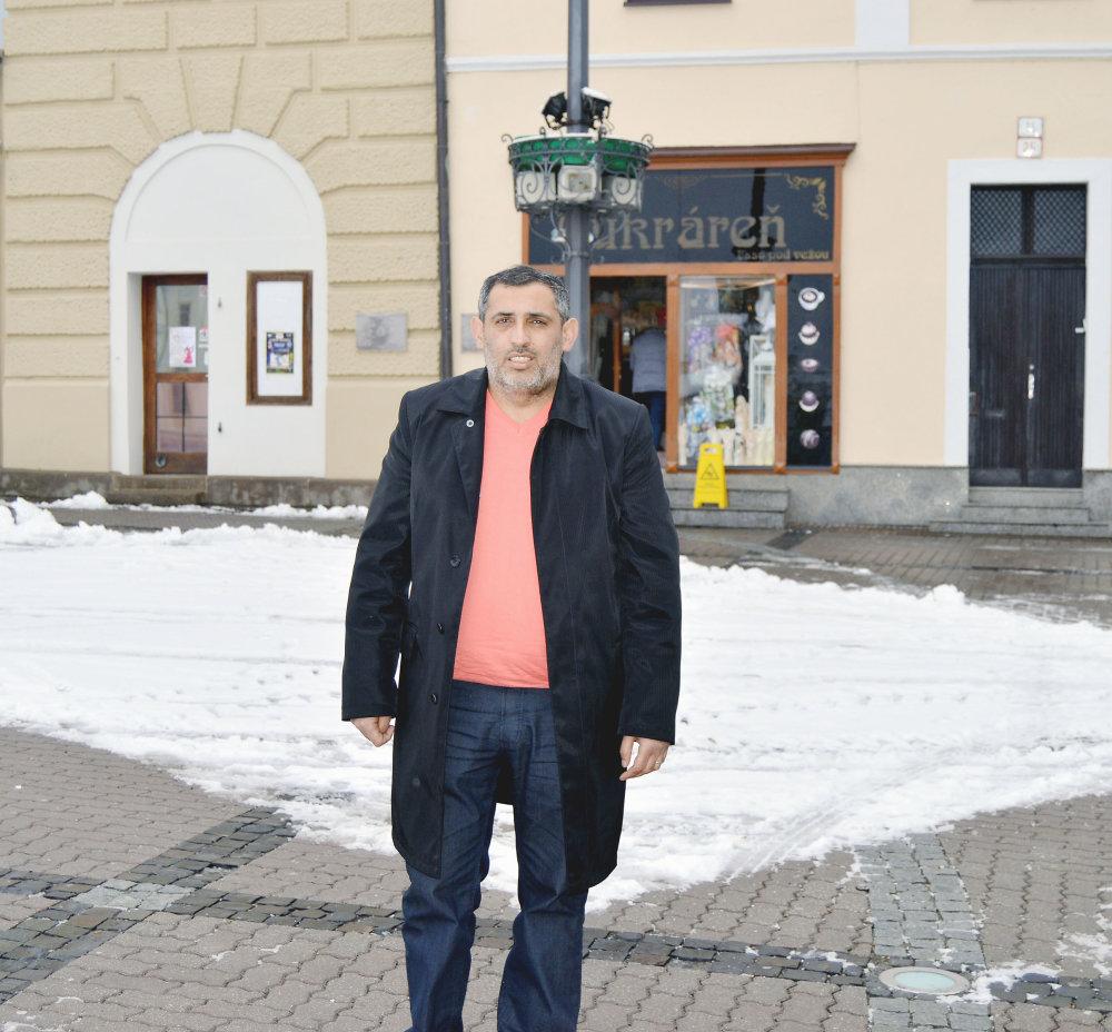 Žije v Banskej Bystrici. foto N - Daniel Vražda