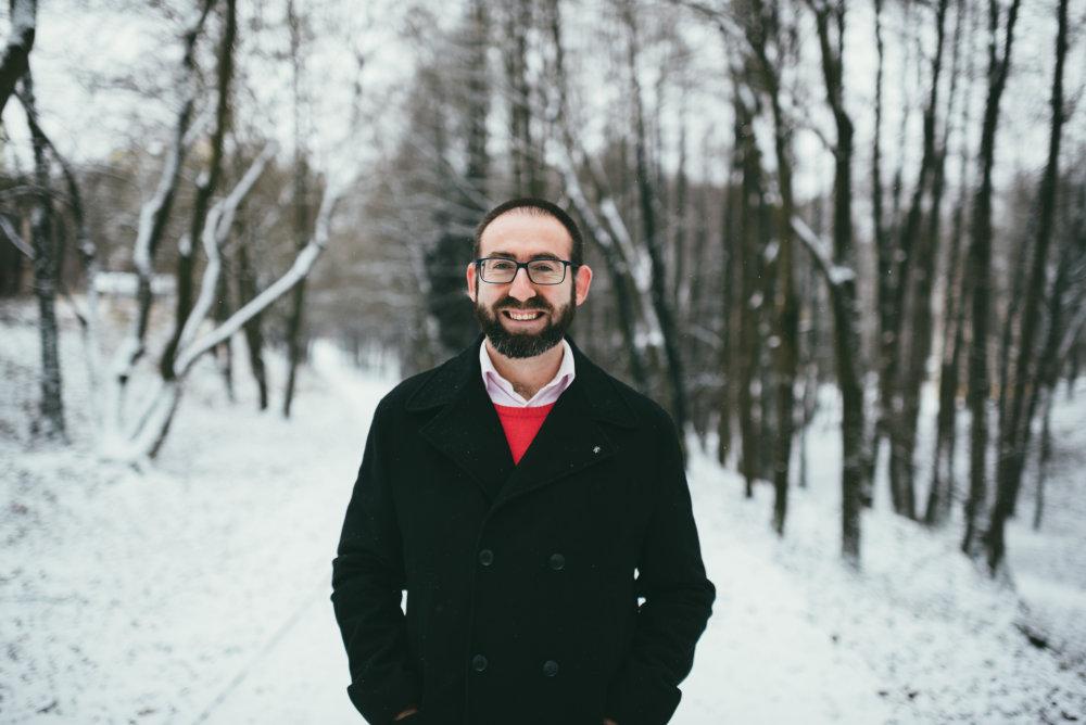 Michal Patarák, psychiater, Fakultná nemocnica s poliklinikou F. D. Roosevelta, Banská Bystrica. Foto: Jakub Čaprnka