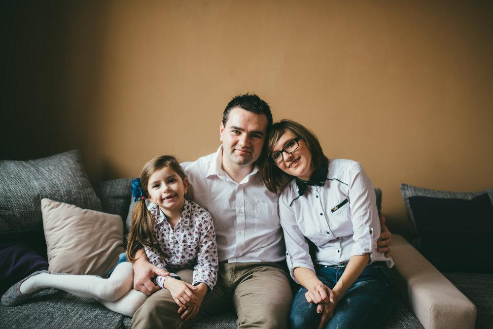Kádárovci, Maximkova rodina, Levice. Foto: Jakub Čaprnka