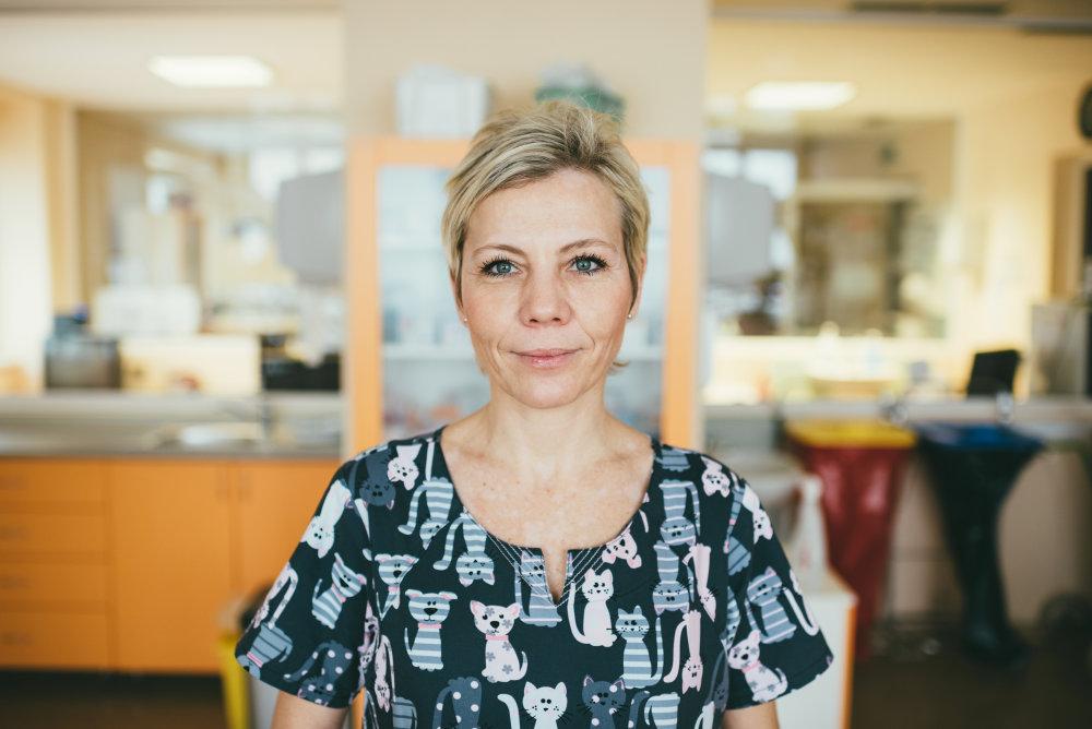 Dana Dolníková, primárka, Neonatologická klinika intenzívnej medicíny DFNsP, Bratislava. Foto: Jakub Čaprnka