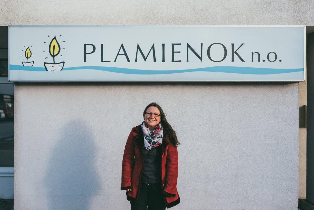 Katarína Maťová, psychoterapeutka, Plamienok, Bratislava. Foto: Jakub Čaprnka