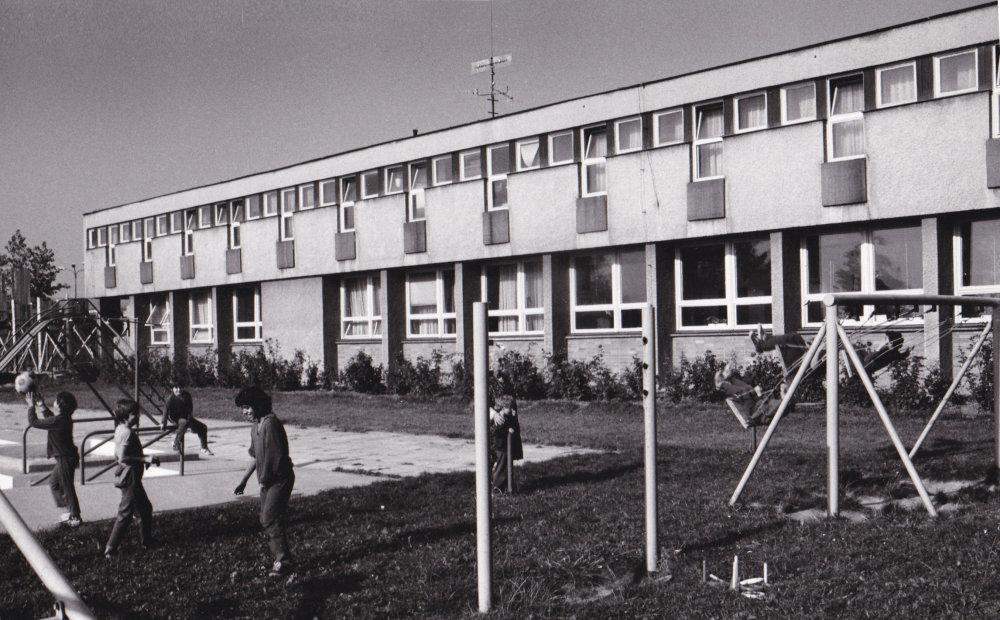 Detský diagnostický ústav, Bratislava-Trnávka, 1967. Foto: Milica Marcinková