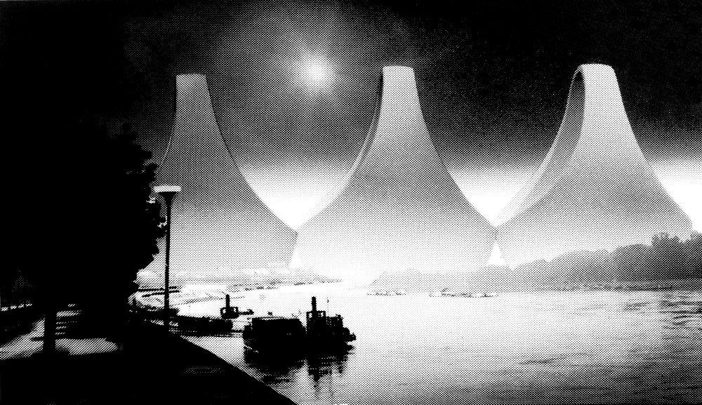 Prístav na Dunaji, Istroport, Viera Mecková, Alexander Mlynarčík, 1974 – 1976 . Zdroj: Archív V. Meckovej