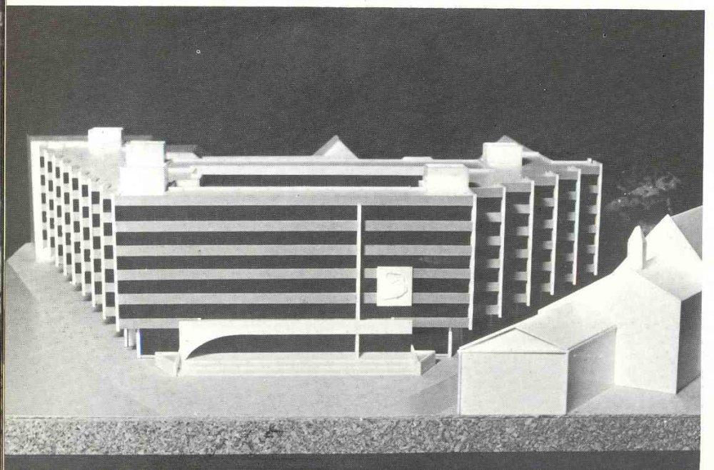 Najvyšší súd, projekt 1978-88, Autor konceptu Dedeček.