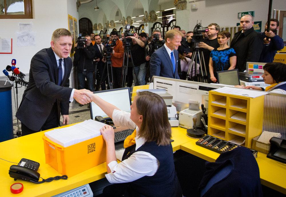Premiér robí pre ľudí, vratky za plyn sú dôkazom. Foto N - Tomáš Benedikovič