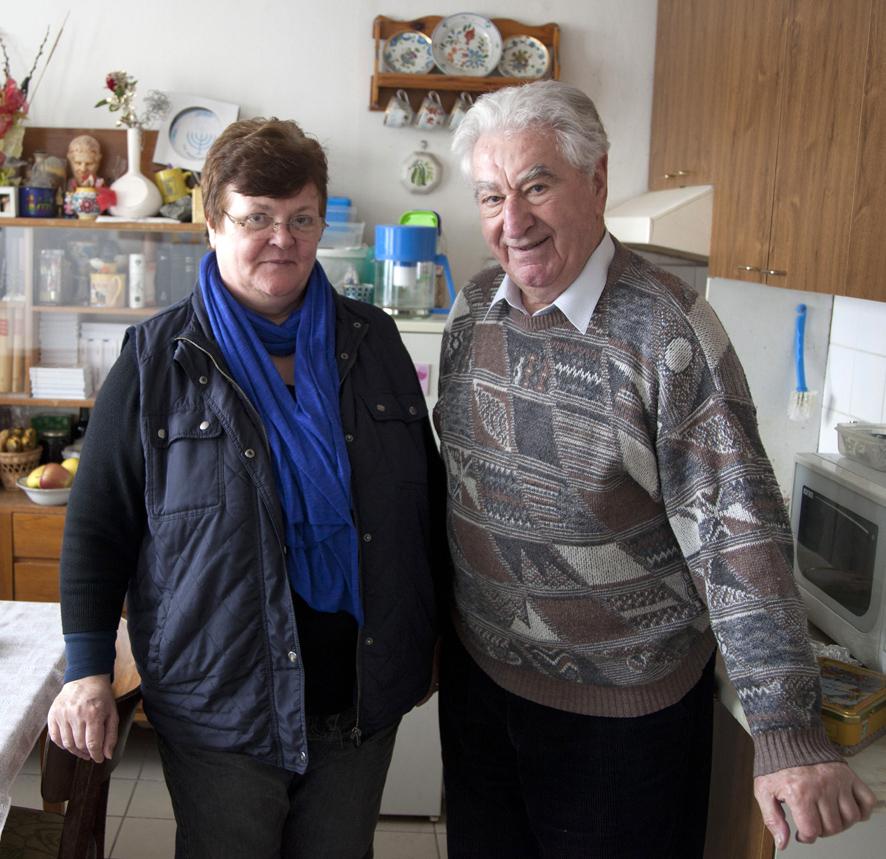 so sestrou Ritou(foto Ľubo Bechný)