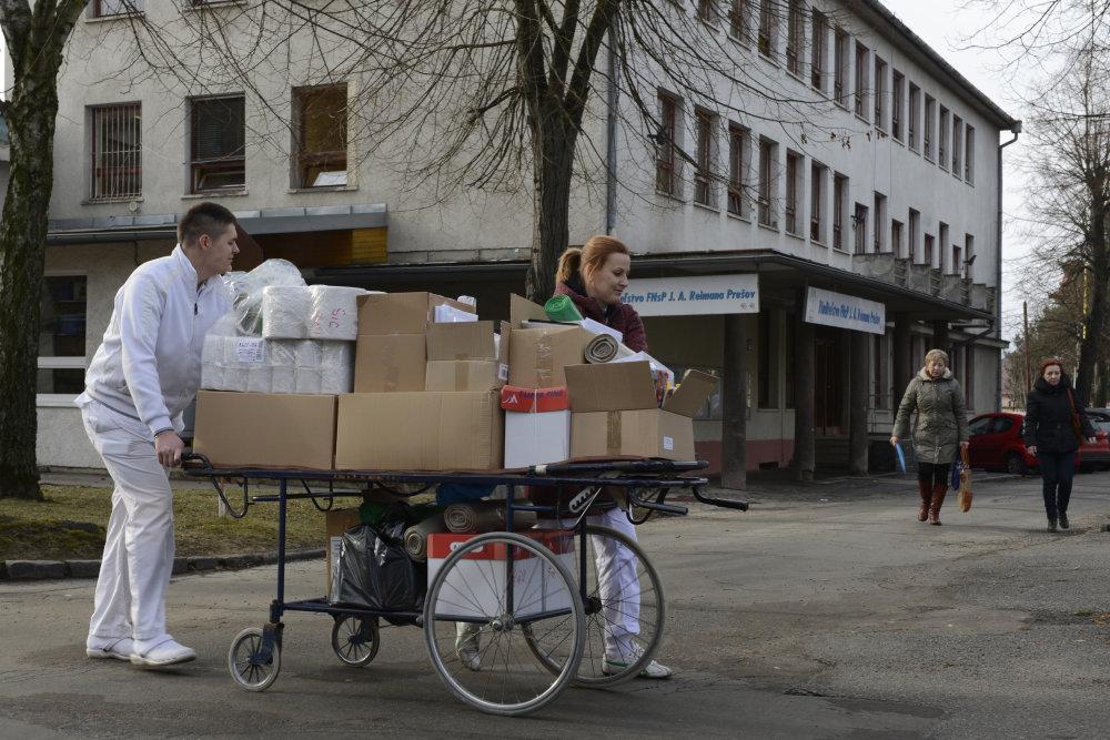 Nemocnica v Prešove. Foto – tasr