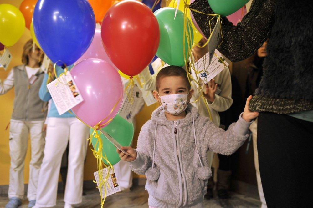 Deti z detskej onkológie. foto – TASR