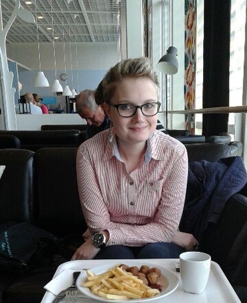 S českou študentkou Martinou Maškovou sme si po večeroch vymenili niekoľko mailov. O asexualite hovorila otvorene a nakoniec sa rozhodla, že v článku môžeme použiť jej celé meno aj s fotkou. Foto - MM