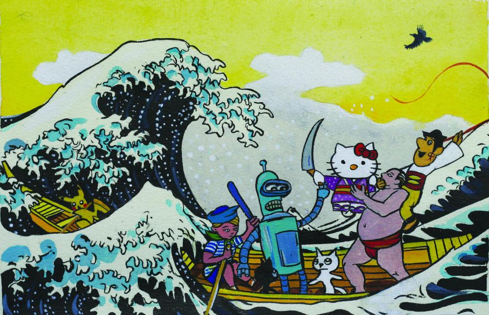 the adventures of Junshi and Stillborn 7 2013 / 19 x 28 cm /