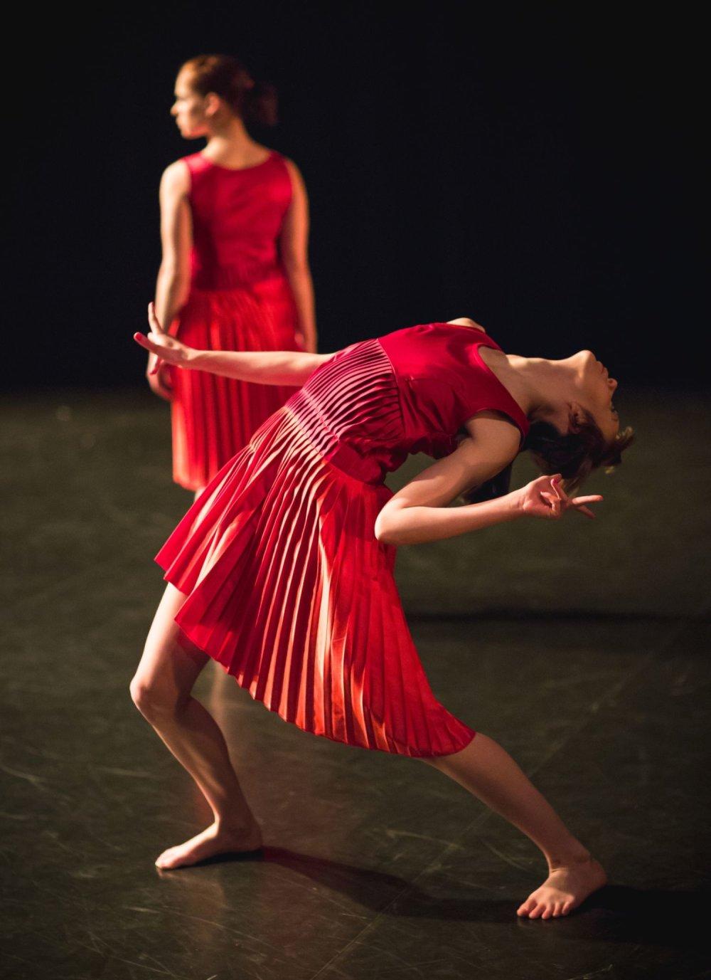 Záber z predstavenia 7 choreografov. Foto – Vlado Veverka