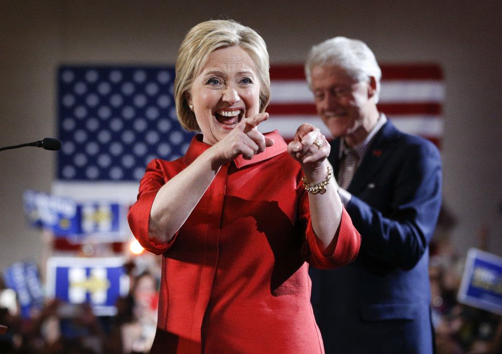 Hillary Clintonová. foto - TASR/AP