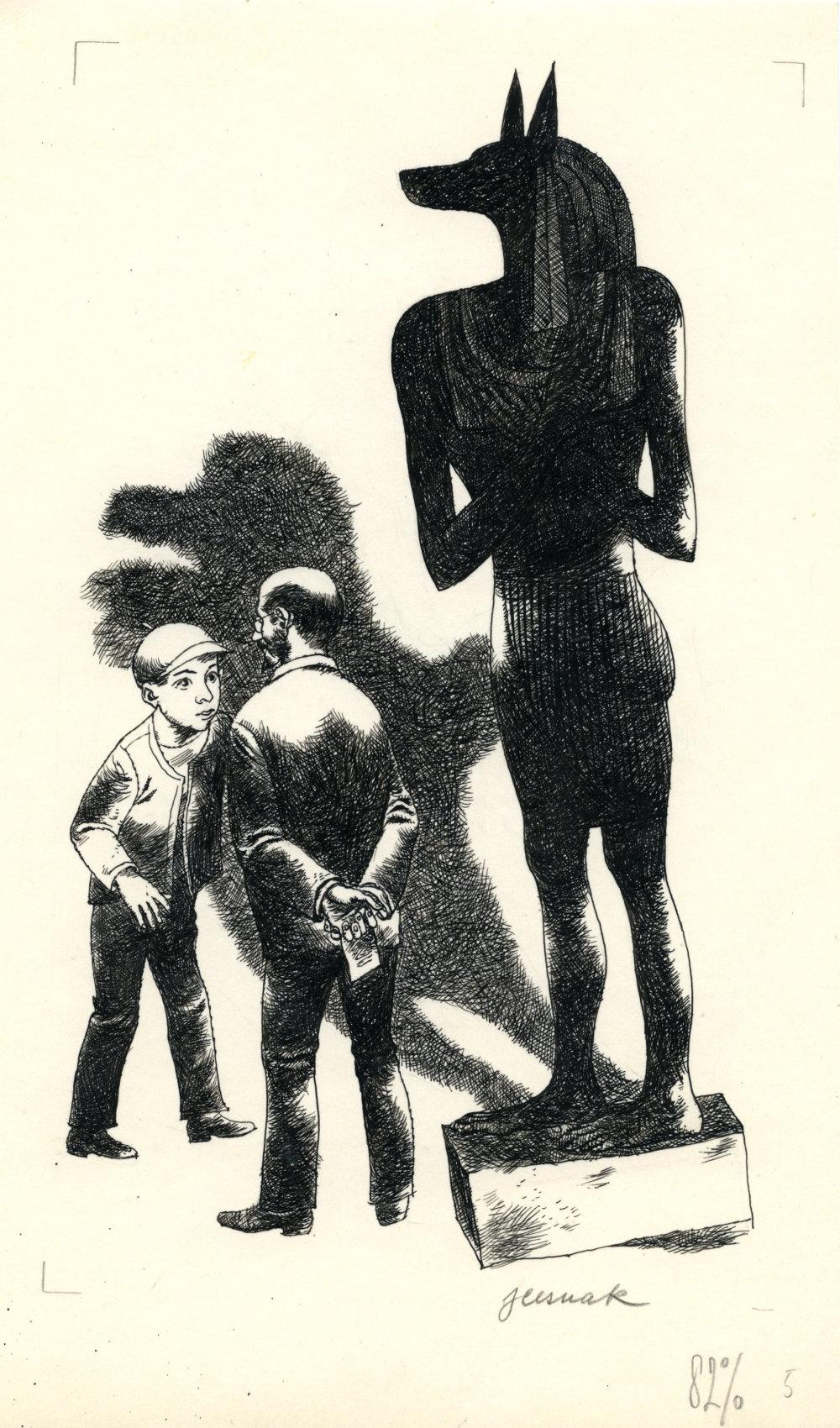 Jozef Cesnak: Záhada šepkajúcej múmie