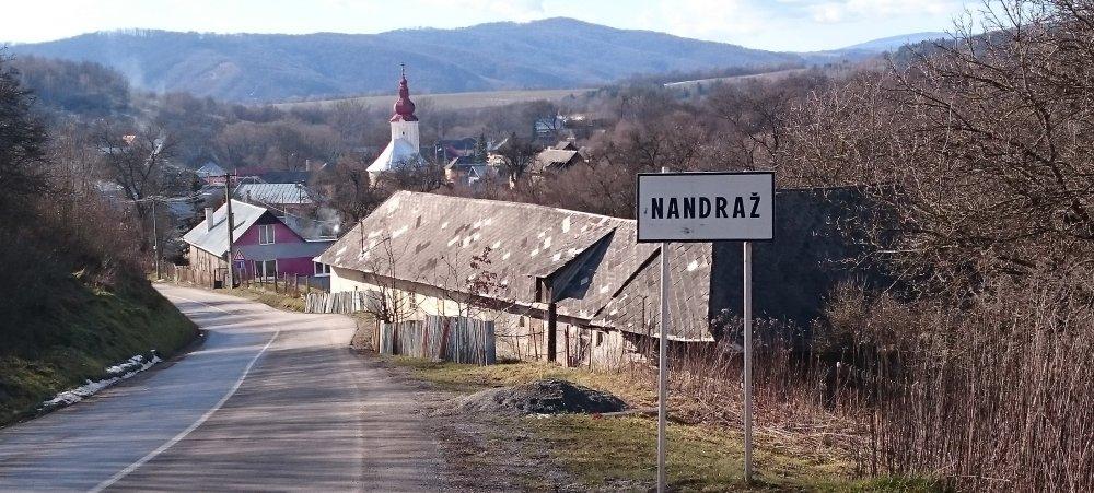 Obec Nandraž na Gemeri, kde v prezidentských voľbách volilo takmer 86 percent z tých, čo prišli voliť. Foto N - Laco Kerekeš