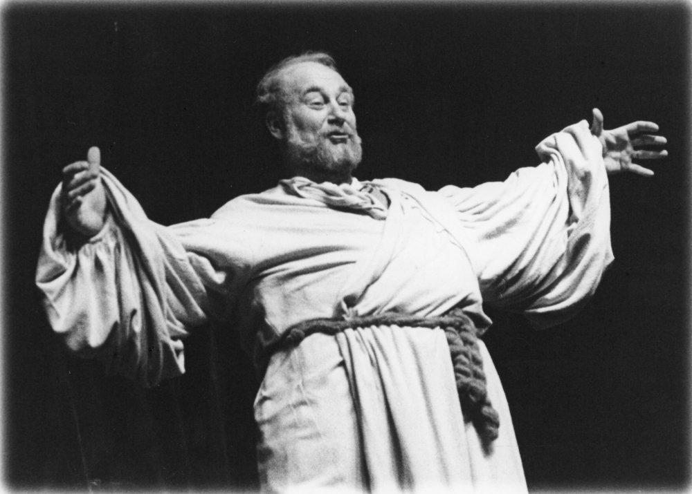 Henrich IV. (1984), sir John Falstaff. Foto - Anton Sládek