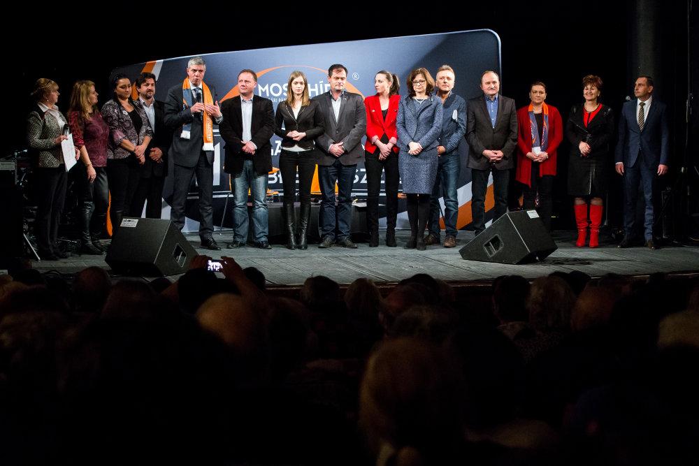 Predstavenie kandidátov v Nitre. Foto N – Matej Dugovič