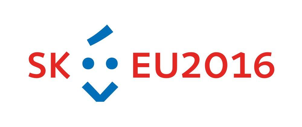 Logo nášho predsedníctva v EU od Jakuba Dušičku.