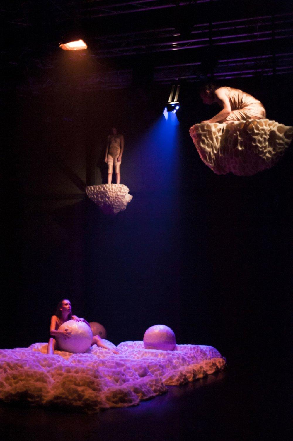 Foto z predstavenia Lososy. Foto – Jakub Čajko