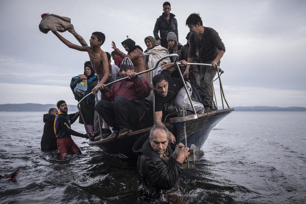 Správy, prvá cena príbehy: Utečenecká kríza. Foto – Sergej Ponomarev