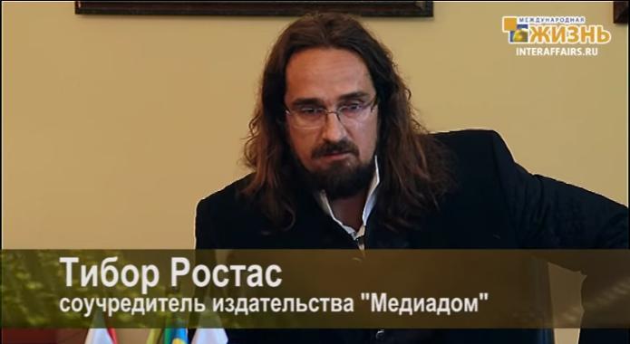 Rostás v Moskve a
