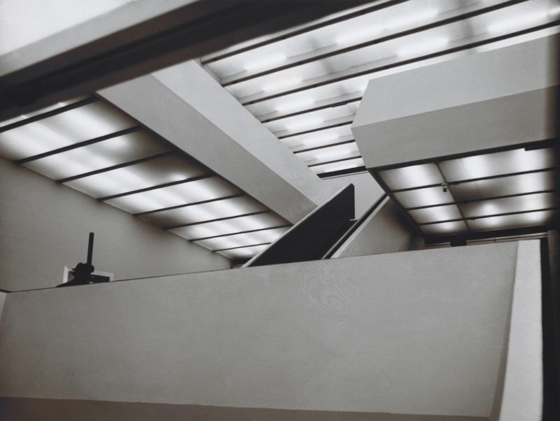 Pohľad do výstavných priestorov Premostenia v roku 1979. Foto - SNG