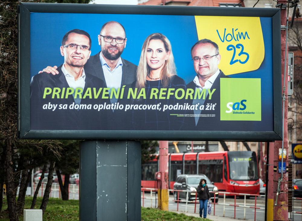Poslanco SaS v parlamente vidieť. Foto N - Tomáš Benedikovič