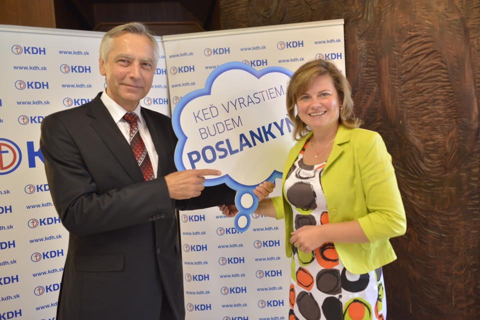 Ján Figeľ a Miroslava Szitová. Foto Facebook Jána Figeľa