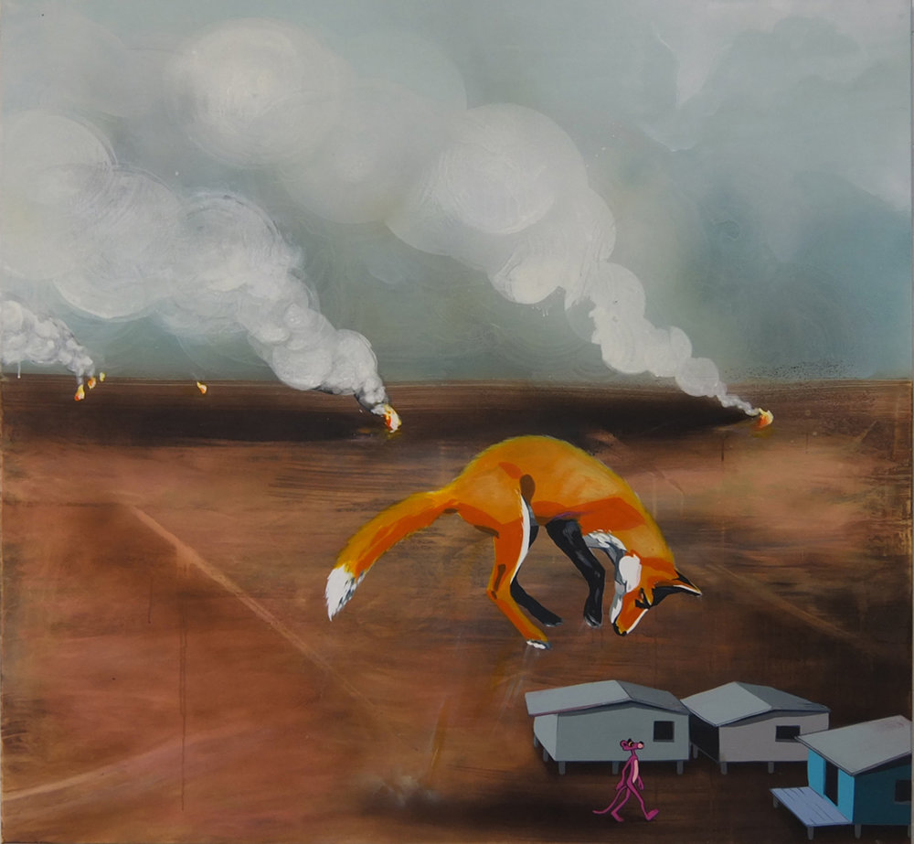 Firefox, 2013 / 140 x 150 cm.