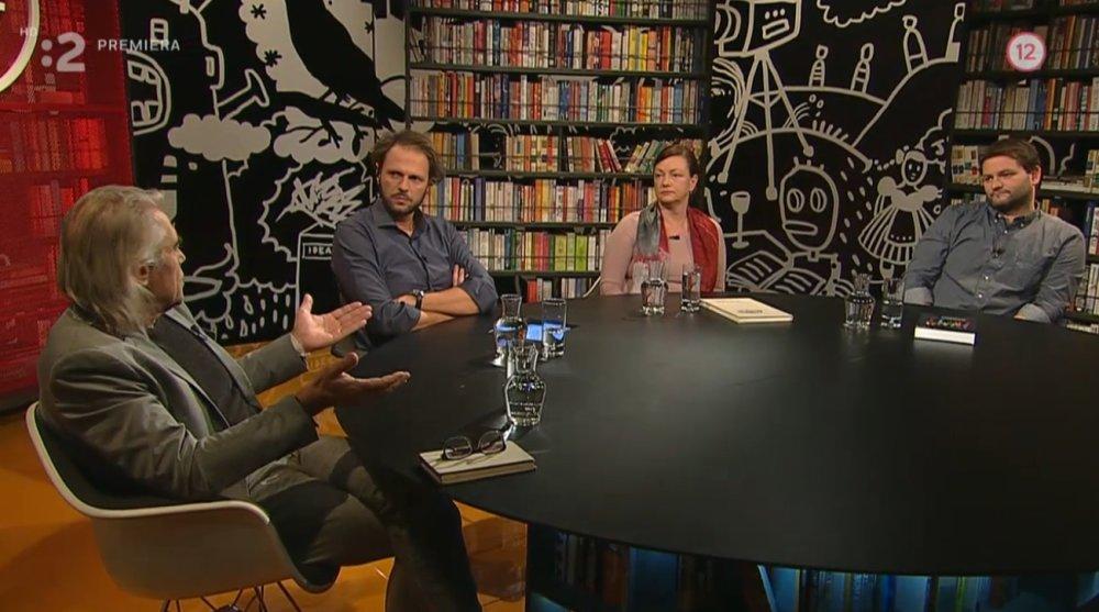 Večera s Havranom o Marianovi Kotlebovi. Reprofoto – Archív RTVS