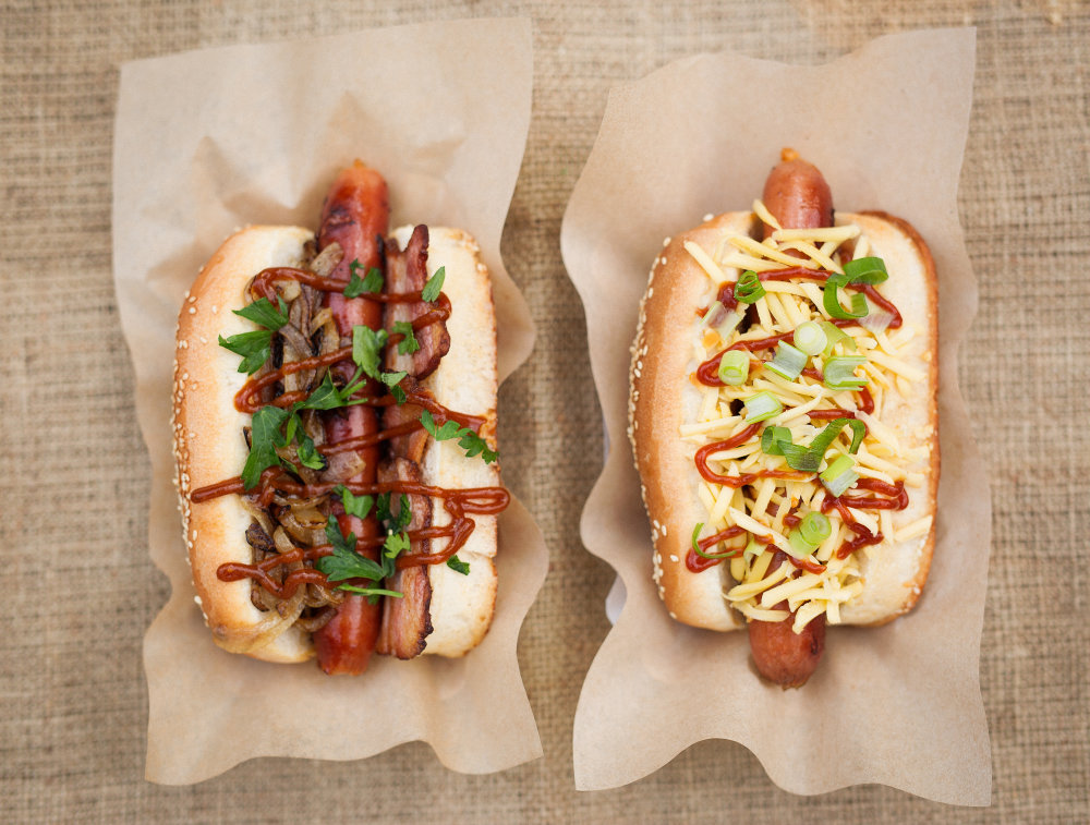 Hot-dogy z NYC Corneru. Foto – Archív O.K.