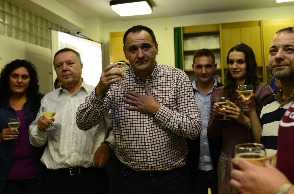 Z osláv obhájenia županského postu v roku 2013. foto - TASR