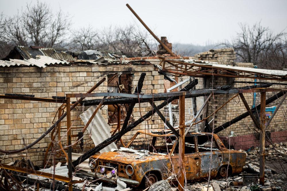 Počas vojny na Donbase zomrelo už vyše 9-tisíc ľudí. Foto N - Vladimír Šimíček