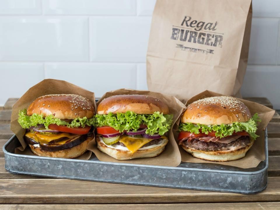 Burgery z Regal Burger. Foto – Facebook Regal Burger