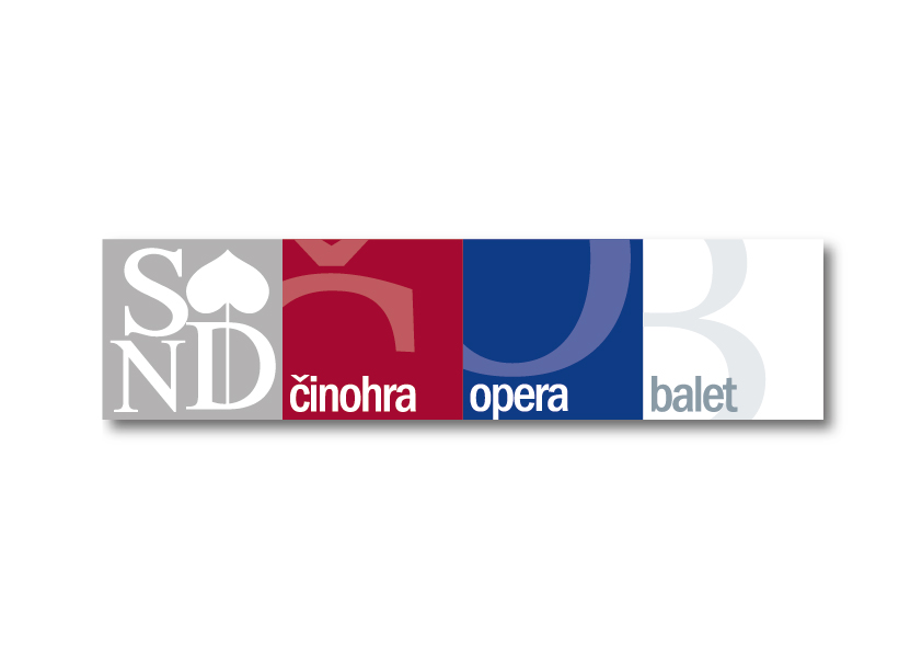 Logo pre Slovenské národné divadlo, Pavol Rozložník a Milan Machajdík / IQ Design Studio, 2012.