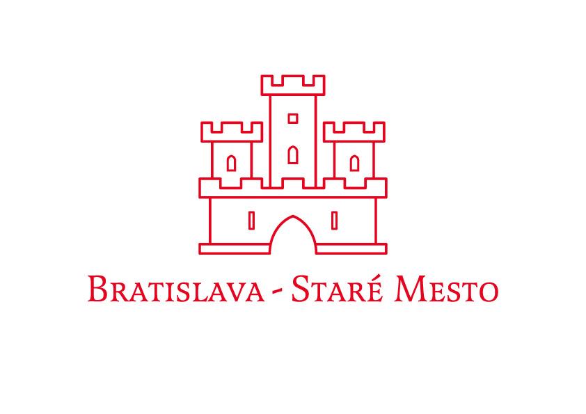 Logo pre bratislavské Staré mesto, 2003.