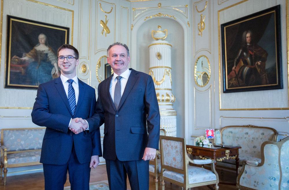 Slovensko má talent, o ktorom ste možno nepočuli, povedal pri stretnutí s Pančíkom prezident Kiska. Foto N - Tomáš Benedikovič